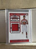 2019-20 RUI HACHIMURA RC PANINI CONTENDERS ROOKIE TICKET JERSEY CARD WIZARDS