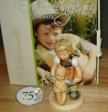 Hummel First Steps Figurine wBox COA #2199 Tmk-9 75th Anniversary #22 of 75 RARE