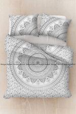 Indian floral mandala duvet quilt cover hippie bedding comforter cover full size