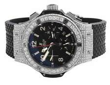 Brand New Excellent Mens 44 MM Hublot Big Bang 301.SB.131.RX Diamond Watch 10 Ct