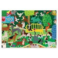 Eeboo Dogs at Play 100 Piece Kids Toy Family Puzzle Age 5+  03886