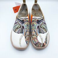 UIN Art Of Walk Shoes Elephant Multicolor Spain Size 41/9 New