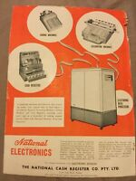 National Cash Register Co. Advertisement - Australia  - 1956