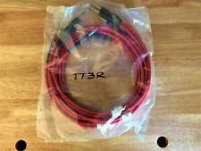 Switchcraft Tt3R Red Tiny Telephone (Bantam) Patchcords. 3 Feet Long