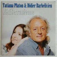 TATIANA PLATON & DIDIER BARBELIVIEN : MÉDITERRANÉENNE ♦ CD SINGLE PROMO ♦