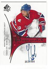 Yannick Weber Montreal Canadians 2009-10 Future Watch Rookie Autograph /999