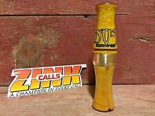 Zink Calls Nightmare on Stage Goose Call NOS Canada Hunting-Birdseye Maple
