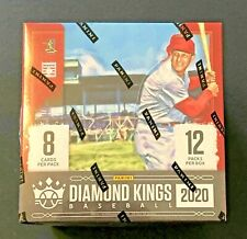 2020 Diamond Kings Baseball Sealed Hobby Box - 2 Autographs or Relics Per Box