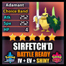 Pokemon Sword and Shield SHINY 6IV Sirfetch'd BATTLE READY IV Competitive FAST