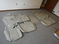 2013 2015 TOYOTA RAV 4 XLE 2 ROW IVORY LEATHER SEAT SEATS UPHOLSTERY KITSET  NEW