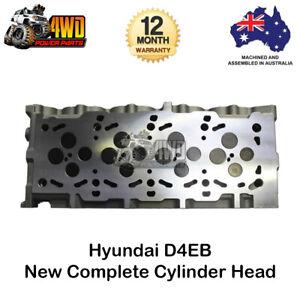 New D4EB Complete Cylinder Head for Hyundai Grandeur Santa FE 4 Cyl 16v Diesel