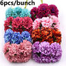 Home Decor Silk Gerbera Artificial Flower Fake Flores Bouquet Mini Daisy