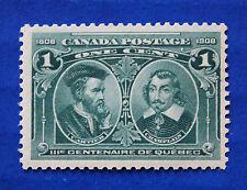 CANADA  (#97) 1908 Cartier & Champlain MNH single
