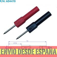 AD4470 Sonda de prueba  punta de 2mm para banana 4mm