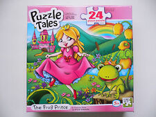 "Puzzle Tales ""The Frog Prince"" 24 Piece Jigsaw Puzzle BNIB 5+"