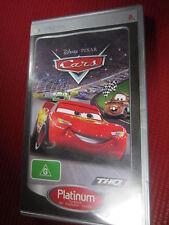 Disney Pixar cars PSP