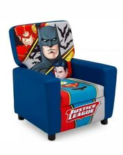 Justice League Youth Chair High Back Seat Batman Superman Flash Design Classic