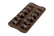 SILIKOMART stampo in silicone x cioccolatini Stella Campanella Pacchetto Natale
