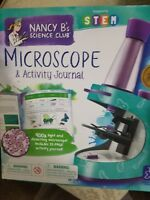 Educational  Nancy B's Science Club Microscope and 22-page ACTIVITY JOURNAL