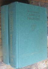 The International Camellia Register Thomas & Savige 2 volumes first ltd. ed