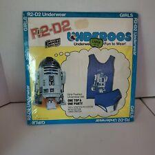 Vintage 1979 Underoos Star Wars R2-D2 Tank Top & Underwear Panty Set Size Large