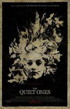 THE QUIET ONES ORIGINAL 27x40 MOVIE POSTER (2014) HARRIS & COOKE