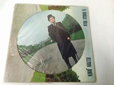 ELTON JOHN A SINGLE MAN PICTURE DISC PROMO ALBUM B900