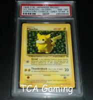 PSA 8 NM-MINT Pikachu GREY STAR WOTC Black Star Promo VARIANT Pokemon Card