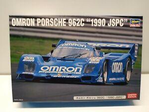 "1:24 OMRON PORSCHE 962C ""1990 JSPC"" by Hasegawa"