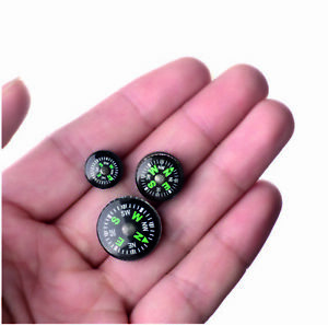 EDC Small Compasses assorted sizes Survival Emergency Camping Hiking Tools