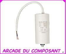 1 CONDO CONDENSATEUR DEMARRAGE MOTEUR 450V 50MF + CABLE - GROUPE ELECTROGENE