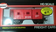 Model Power Ho 36' BAY WINDOW CABOOSE SAFETY # 98240 W/ Knuckle Couplers 9125