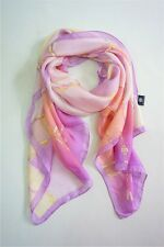 METRO CITY 100% pure silk chains printed women men long scarves P611527