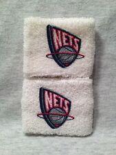 NEW JERSEY BROOKLYN NETS NBA BASKETBALL VINTAGE SGA WRISTBANDS - NEW!!!