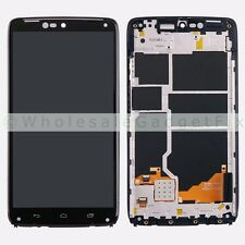 Motorola Droid Turbo XT1254 Maxx XT1225 LCD Display Touch Screen Digitizer Frame