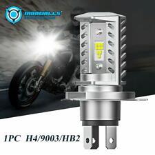 H4 HB2 9003 LED Motorcycle Bike Hi/Lo Beam Headlight Lamp Bulb 6000K 15000LM US