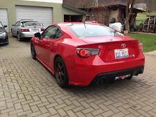 Toyota GT86 - Scion F-RZ , Subaru BRZ SPEC-RT rear spats lips valances pair