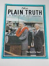 The Plain Truth: A Magazine of Understanding- May 1968- The Search For People