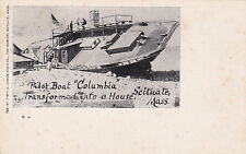 "SCITUATE , MA , 00-10s; Pilot Boat ""Columbia"" wrecked Nov. 27, 1898, version 2"