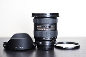 Nikon AF 18-35mm ED Wide Angle FX Lens w/ UV Filter - US Model & MINT!