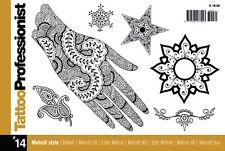Tattoo Professionist Book # 14 - All About Mehndi