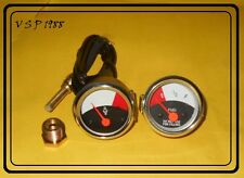 JOHN DEERE TRACTOR TEMPERATURE FUEL GAUGE SET 1010 replacement
