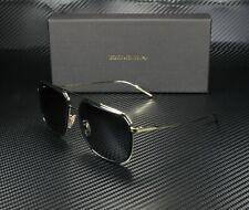 Dolce & Gabbana DG2165 488/81 BLACK PALE GD POLARIZED GREY 58 mm Mens Sunglasses