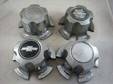 Set of 4 1970-1981 Chevy Camaro Chevelle Nova Chrome Center Wheel Caps