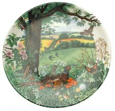 Wedgwood plate by Colin Newman Meadows and Wheatfields CPO154