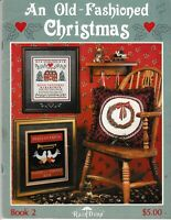 An Old-Fashioned Christmas Charted Cross Stitch | Rain Drop Designs 2
