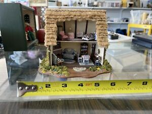 Dollhouse Miniature Cottage 1:48 Great Attention To Detail