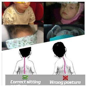 Baby Car Seat Sleep Holder Belt Kids Head Fasten Toddler Safety Nap Support