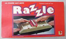 Jeu ancien Razzle La Course aux mots / Miro-Meccano 1981 / 2 joueurs 7 ans et +