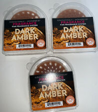 New AromaBreeze Fragrance Disc 3 Pack Dark Amber